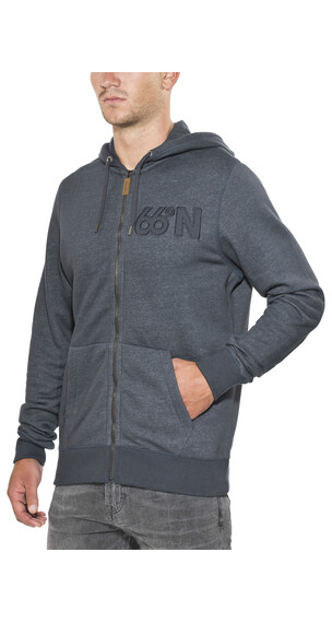 66° North Logn Zipped Sweater Men denim